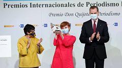 Los proyectos de RTVE 'Mil Mujeres Asesinadas' y 'Nosotrxs Somos', galardonados en los Premios Internacionales de Periodismo Rey de España