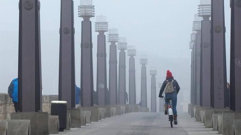 Nieblas extensas este miércoles en la meseta norte y en el valle del Ebro