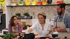 Cocina al punto con Peña y Tamara - Buñuelos de manitas de cordero