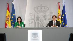 Especial informativo - Comparecencia del ministro de Sanidad, y ministra de Política Territorial - 11/11/20