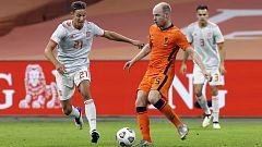 Fútbol - UEFA Amistosos 2020. Partido: Países Bajos - España