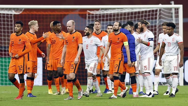 Países Bajos y España empatan en el amistoso, lo que queda en claro del partido de Amsterdam