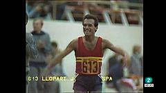 L'Informatiu - Mor Jordi Llopart, primer medallista olímpic de l'atletisme espanyol i català