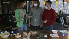 Receta de tortilla de patatas con trufas de Irene Villa