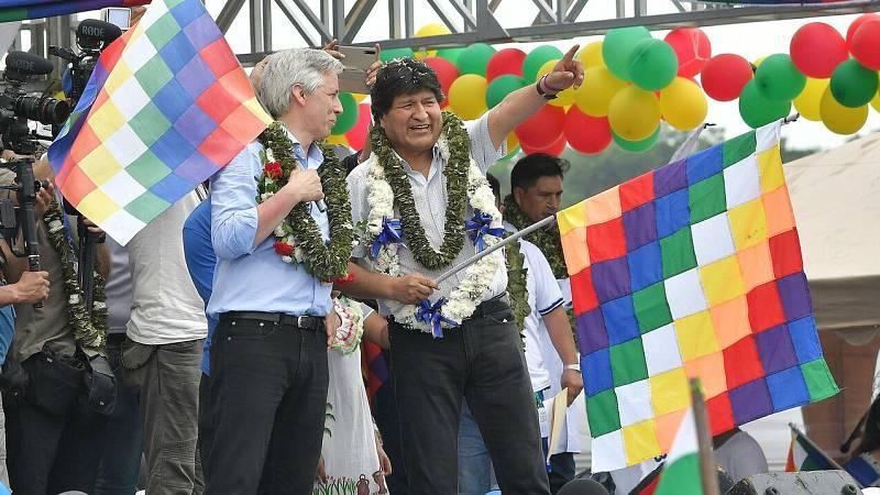 Chimoré recibe a Evo Morales un año después de su exilio