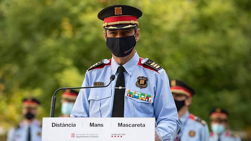 """Trapero hace autocrítica tras recuperar el mando de los Mossos: """"Todos pudimos hacerlo mejor. Yo el primero"""""""