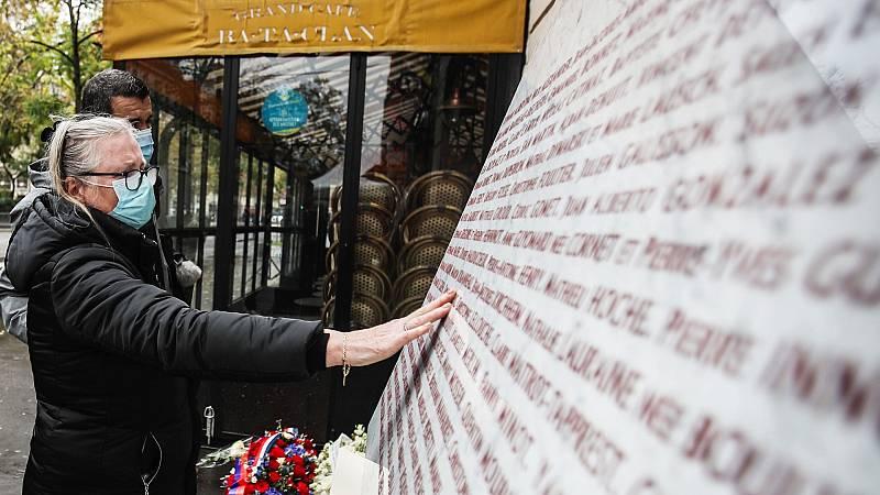 Cinco años del atentado yihadista en la sala Bataclan de París