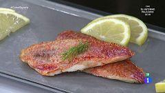 El truco de Miguel Ángel Muñoz para cocinar salmonetes