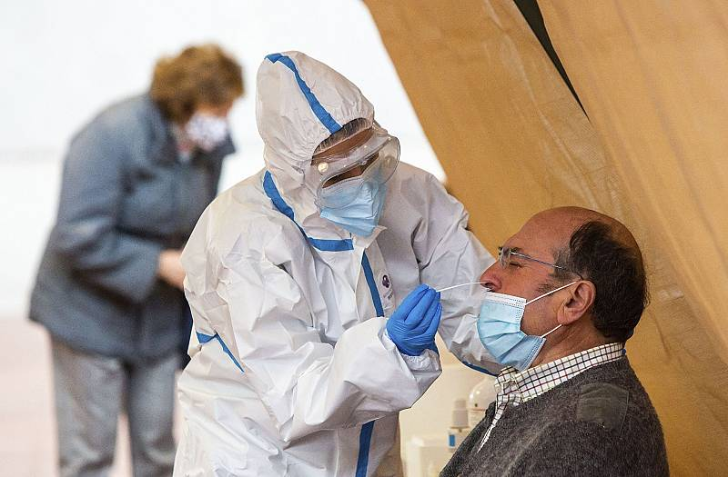 Se disparan los contagios de coronavirus en Burgos, que ya registra 1.700 casos por cada 100.000 habitantes