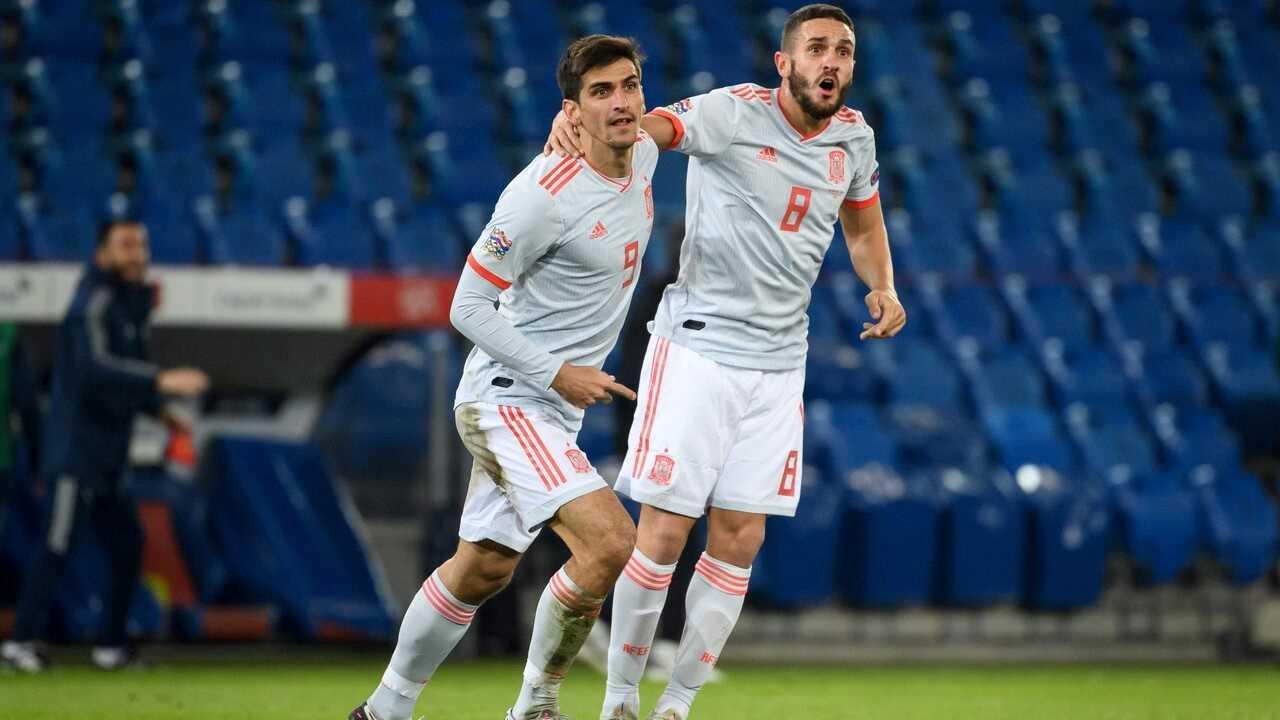Resumen y goles del Suiza 1-1 España