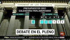 Parlamento - El foco parlamentario - Los presupuestos sortean las enmiendas a la totalidad - 14/11/2020