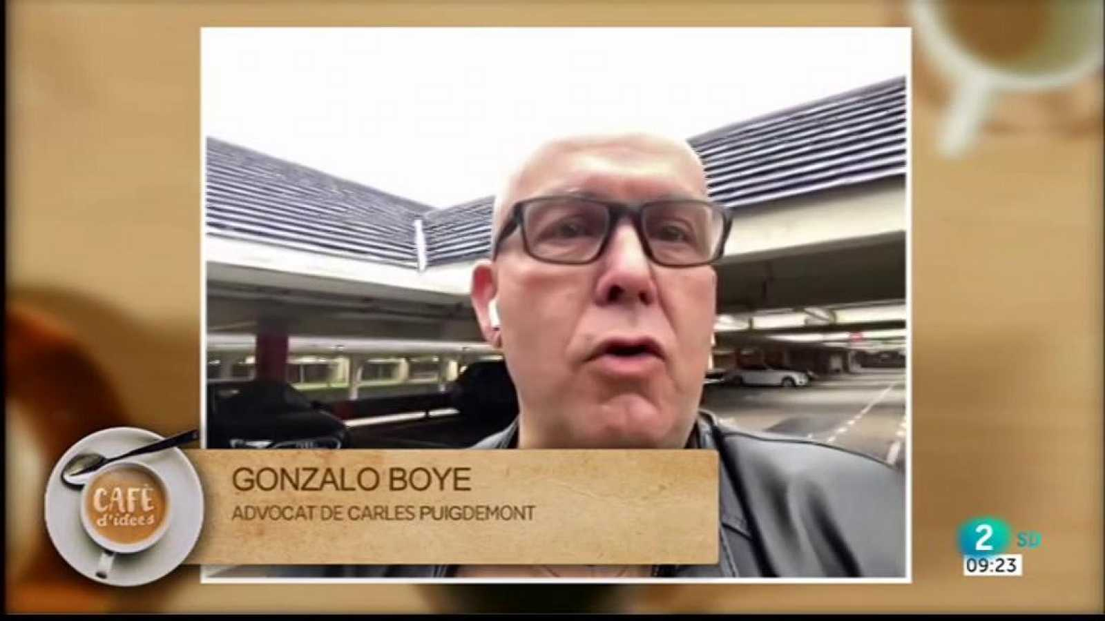 Gemma Nierga entrevista l'advocat de Puigdemont, Gonzalo Boye