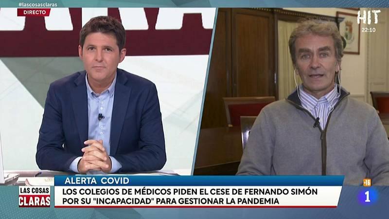 Entrevista íntegra a Fernando Simón en Las Cosas Claras