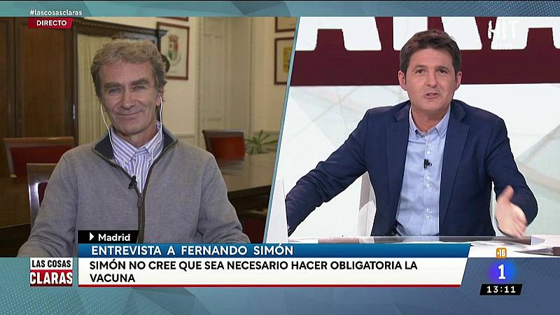 """Fernando Simón espera que """"no sea necesario"""" hacer obligatoria la vacuna en España"""