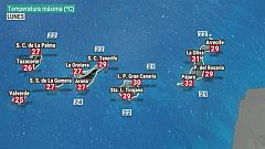 El tiempo en Canarias - 16/11/2020