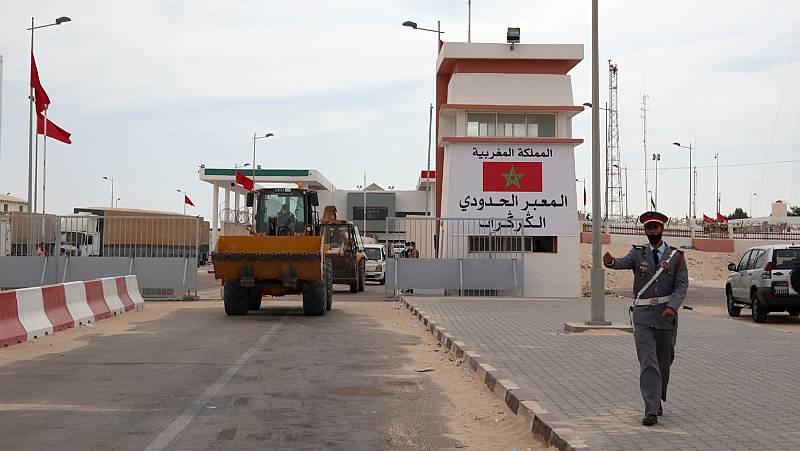 Reabierto el paso fronterizo entre Mauritania y el Sáhara Occidental