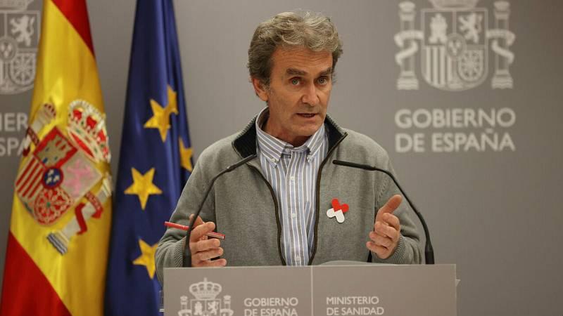 """Fernando Simón descarta presentar su dimisión y reconoce que """"todo es mejorable"""" en la gestión de la pandemia"""