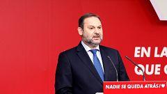 """Ábalos responde a Casado por sus críticas tras el apoyo de Bildu a los PGE: """"Jamás tiraría los muertos a la cara a nadie"""""""
