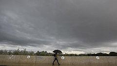 Nieblas espesas en la meseta sur y precipitaciones en Galicia