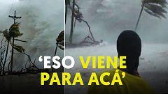 El huracán 'Iota' toca Nicaragua con vientos superiores a los 250 km/h