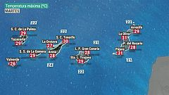 El tiempo en Canarias - 17/11/2020
