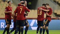 Resumen y goles del España 6-0 Alemania de la UEFA Nations League