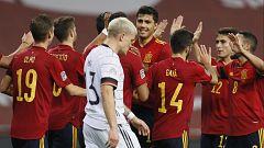 "Fútbol - UEFA Nations League 2020. Programa ""Estudio Estadio selección"". Postpartido: España - Alemania"