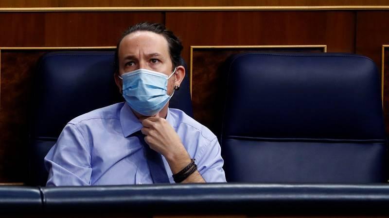 """Vox acusa al Gobierno de no permitir """"el periodismo libre"""" e Iglesias les acusa de generar """"bulos"""""""