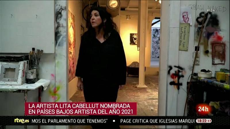 """Lita Cabellut, nombrada """"Artista de 2021"""" en Países Bajos"""