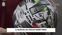 """Ferrán Torres: """"Este hat trick no se me va a olvidar"""""""