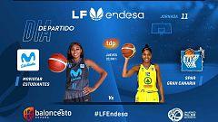 Estudiantes - Gran Canaria, el partido de la jornada de la Liga femenina de baloncesto
