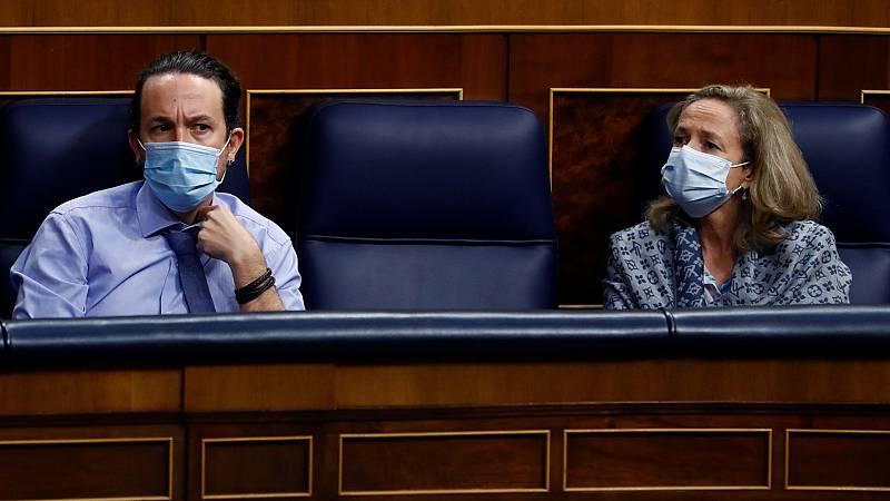 Malestar entre la parte socialista del Gobierno por la enmienda de Podemos junto a ERC y Bildu a los Presupuestos