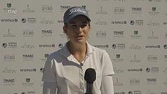 Luna Sobrón, líder en un torneo saudí del circuito europeo