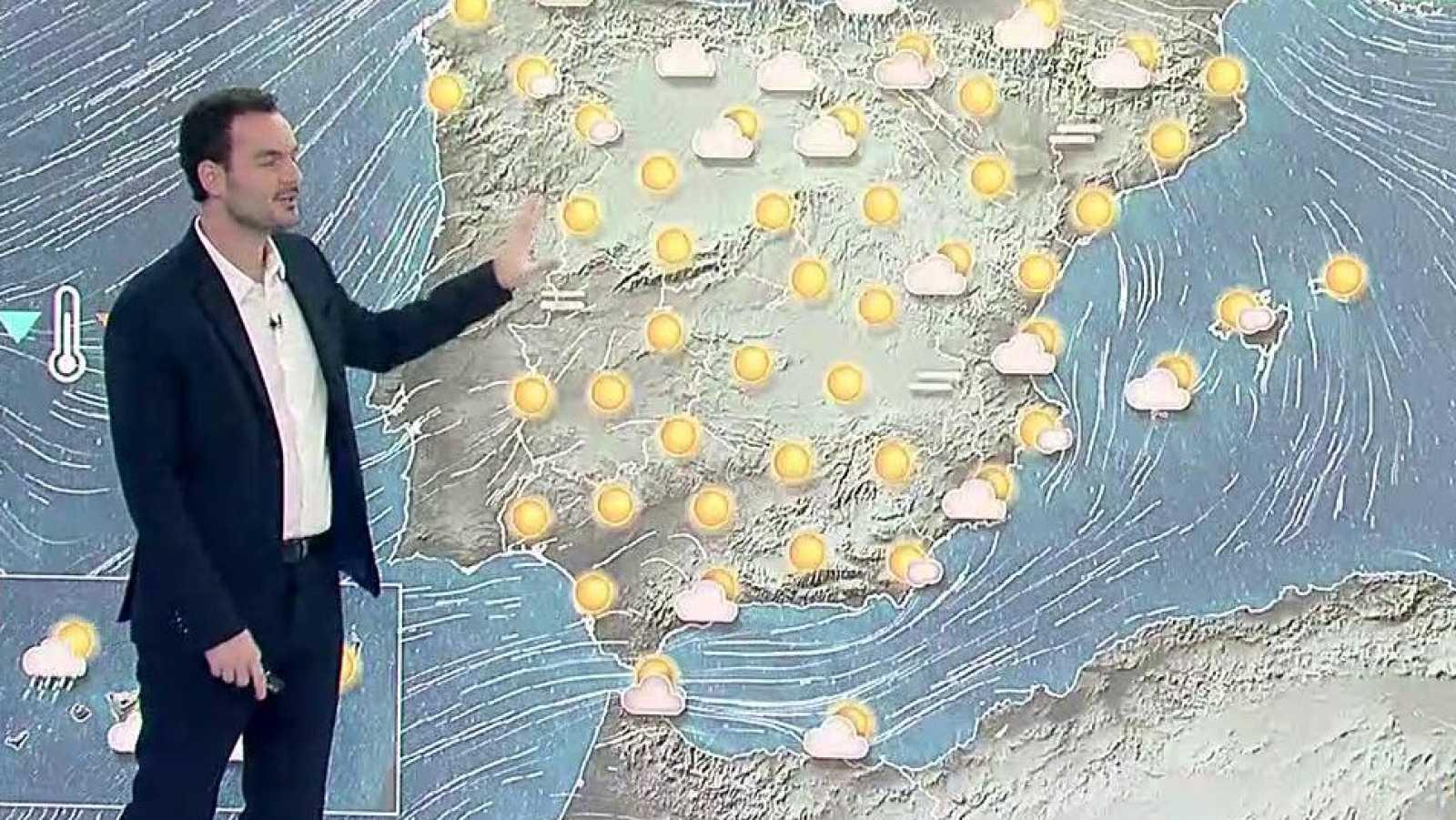 Notable descenso térmico en el Cantábrico y en el alto Ebro