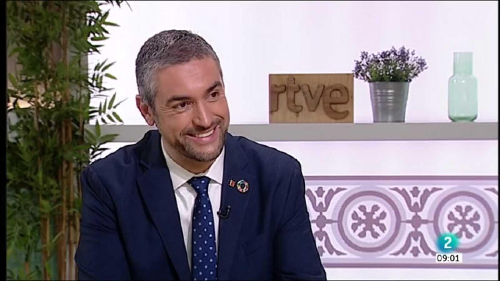 Gemma Nierga entrevista Bernat Solé, conseller d'Acció Exterior, Relacions Institucionals i Transparència