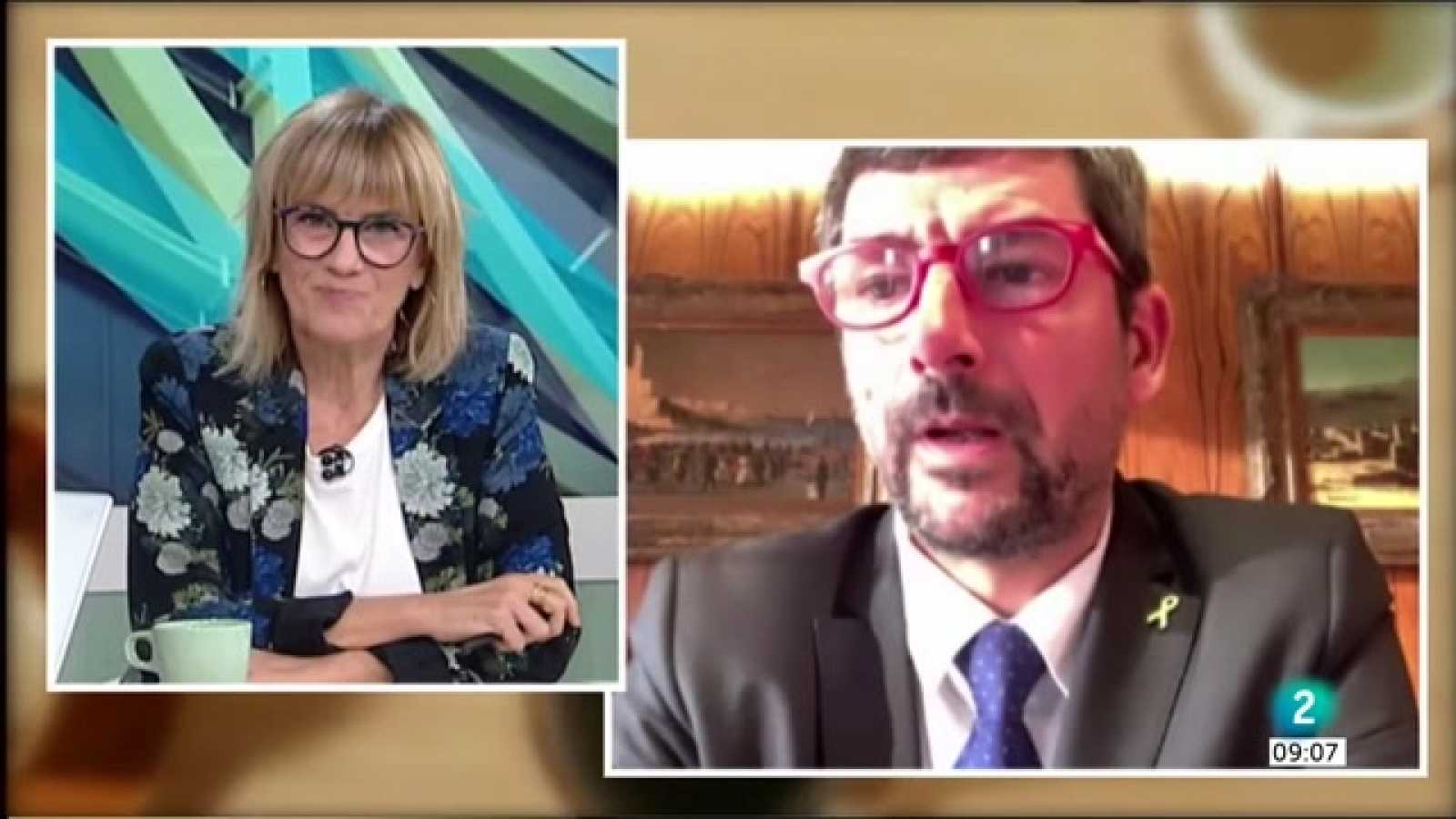 Gemma Nierga entrevista Joan Canadell, president de la Cambra de Barcelona