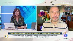 Hablamos con un voluntario de la vacuna de Janssen