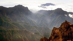 Probabilidad de precipitaciones localmente fuertes en el nordeste de la isla de La Palma