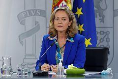 Calviño asegura que España usará todos los fondos de recuperación de la UE, no solo las ayudas directas