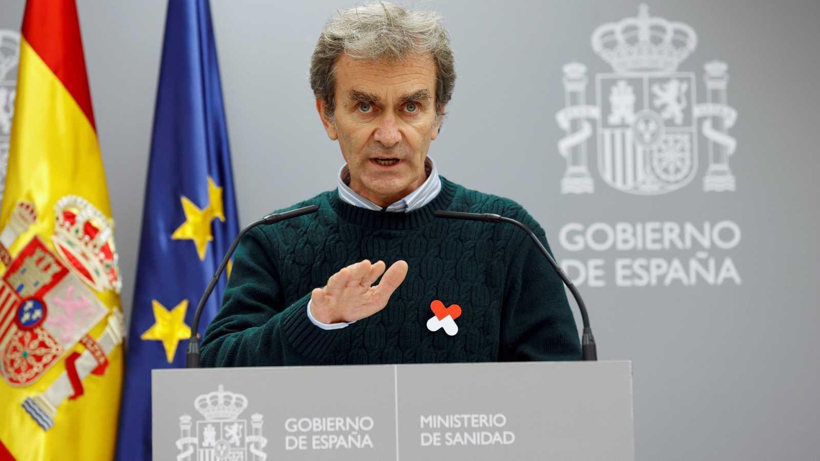 Especial informativo - Coronavirus. Comparecencia de Fernando Simón - 19/11/20 - ver ahora