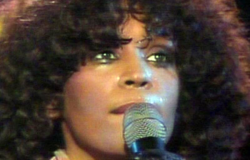 Concierto en directo de Whitney Houston (1989)