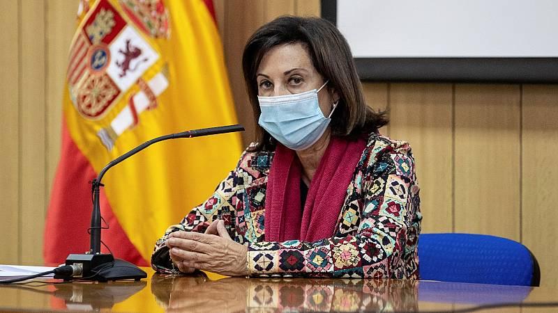 """Robles pide """"lealtad"""" y """"humildad"""" a Iglesias y recuerda: """"El presidente del Gobierno es Pedro Sánchez"""""""