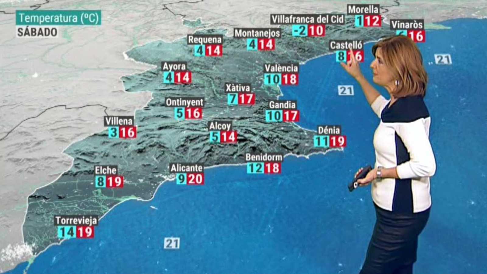 El tiempo en la Comunidad Valenciana - 20/11/20 - ver ahora
