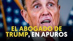 """Giuliani insiste en que hay un """"plan nacional"""" para echar a Trump"""