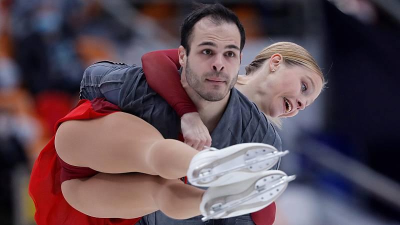 Patinaje artístico - Rostelecom Cup. Programa corto parejas - ver ahora