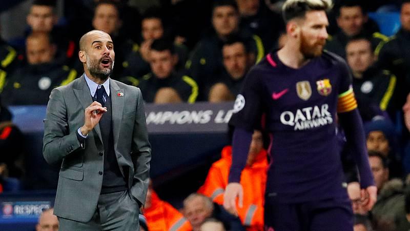 """Guardiola: """"Mi deseo es que Messi termine su carrera en el Barça"""""""