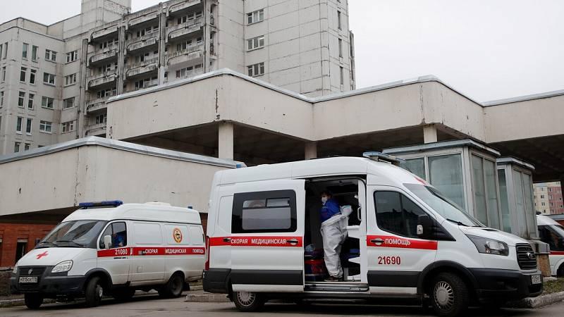 Hospitales saturados en Rusia, que bate su récord de contagios diarios