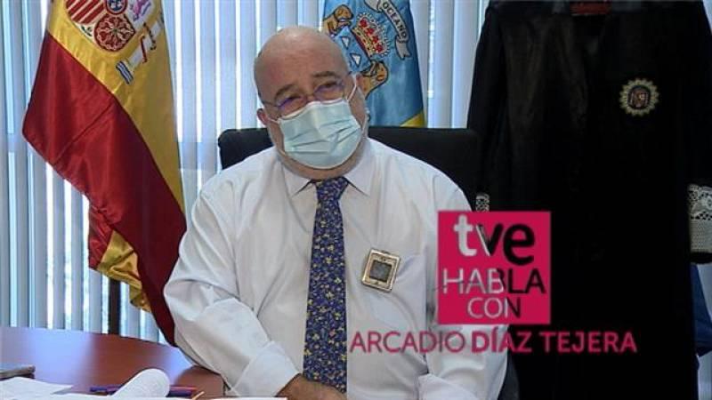 TVE habla con Arcadio Díaz Tejera - 22/11/2020