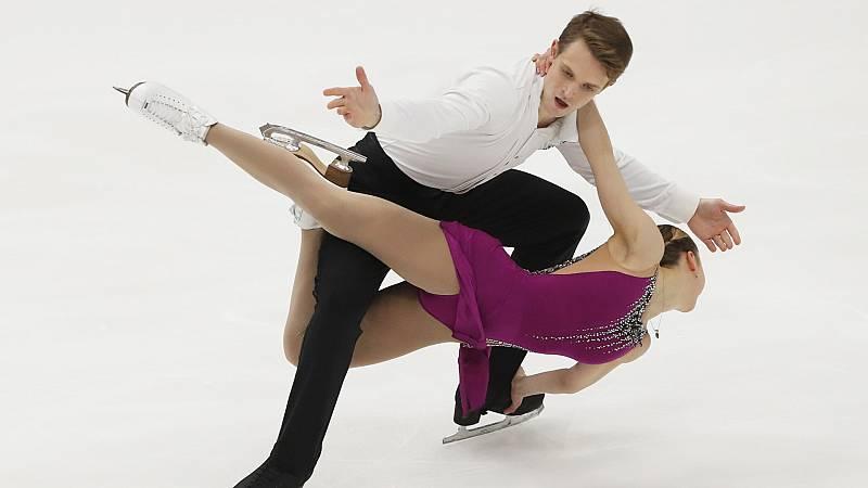 Patinaje artístico - Rostelecom Cup. Programa libre parejas - ver ahora