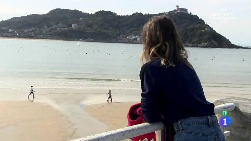 Marta Etura, guía de lujo en San Sebastián